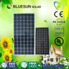 China top quality high efficiency mono 300w small solar panel and battery