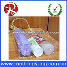 body wash and shampoo PVC bag