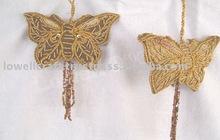 zari christmas hanging butterfly