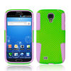 PC+silicone hybrid mesh combo case for Samsung Galaxy S4 i9500-211