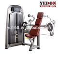 El más nuevo diseño profesional sentado tríceps prensa gimnasio de fitness equipamiento/de interior el entrenamiento del brazo de la máquina de gimnasio