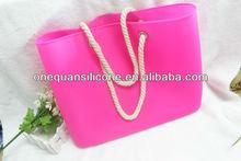 2014 Silicone beach bag,silicone tote bag,fashional women beach bag