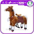 oi en71 brincando brinquedo cavalo de balanço cavalo com rodas mecânicas andar a cavalo para crianças