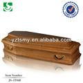 Crescente lidar com estilo simples Funeral caixão da china
