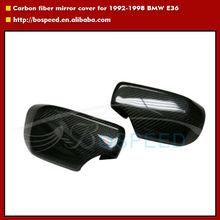 E46 mirror cover Carbon fiber mirror cover for 1998-2002 BMW E46