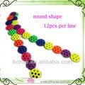 12 pz al filone moda perline per fare braccialetti e collane