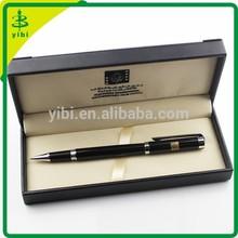 JDB-615 Luxury pen customized logo promotional pen with leather box case