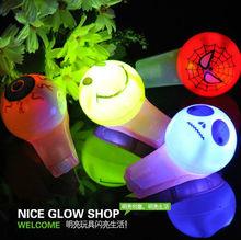 cheaper led flashing halloween whistle