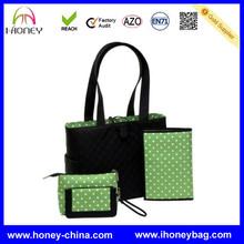Supplier Best Selling Popular Durable Green Black Sale Duffle Diaper Bag