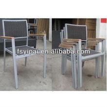 2014 top quality hand weaving outdoor aluminum wicker chair YC302