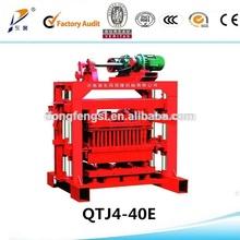 2014 Hot sale QTJ4-40 brick cement blocks making machine