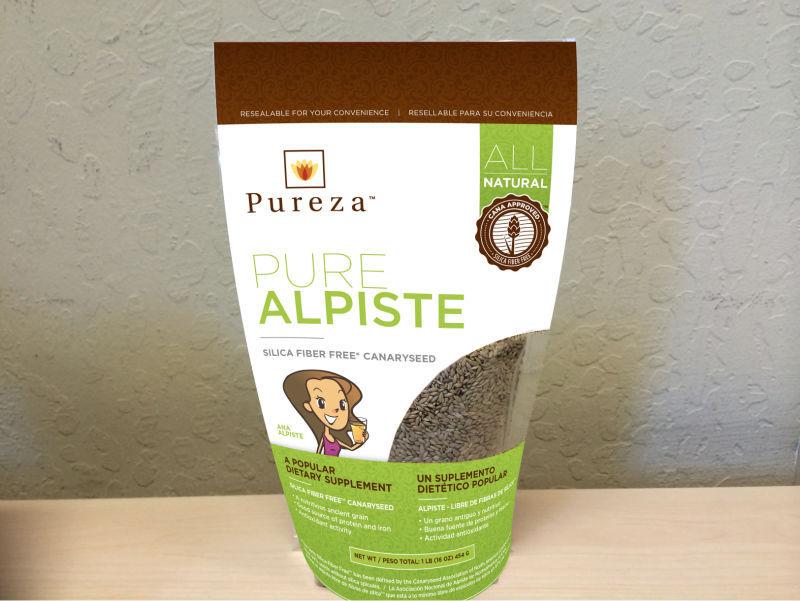 Canary Seed (Alpiste) Silica Fiber Free (tm)