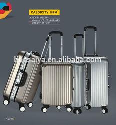 2014 hot hardcase travel trolley abs luggage set
