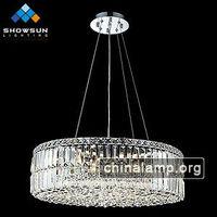 6 Lights Contemporary Living Room modern crystal chandalier