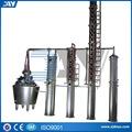 industrial de destilación de alcohol de equipos para la venta