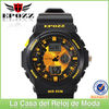 2014 Excellent design dual movement sports watch relojes para deportes for men