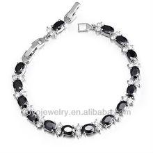 2013 black zircom anti-static magnetic fashion bracelet