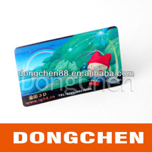 Fashion Design Flexographic Printing Card with High Quality