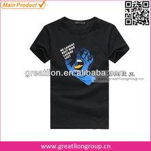 Man's promotional t-shirt