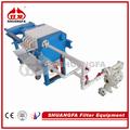 Portable filtro pressador/hidráulica pequena pressador/frutas cinto de imprensa de filtro