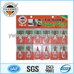Plastic Bottles Super Glue 4g,Cyanoacrylate Adhesive