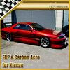 For Nissan Skyline R32 GTR UR Style Full Bumper Body Kit