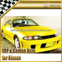 For Nissan Skyline R33 GTST INGS Style Carbon Fiber / FRP Front Bumper Body Kits