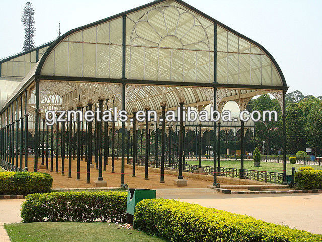 china best price glass house outdoor room