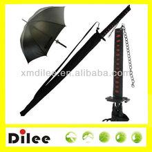 Large male Japanese styled samurai sword umbrella