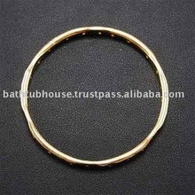 brass bangle cuff Y.83b-6