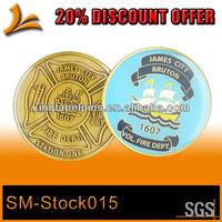SM-Stock015 high quality souvenir coin