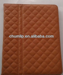 Brown Smart Cover Leather Case For ipad 3