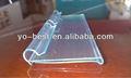 tira de plástico transparente