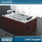 HS-B298 sex massage bath tub with sex video/ dvd one person indoor hot tubs sale