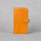 2013 new design genuine 100%cow leather pouch case for samsung galaxy s3