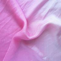 Degrade Colour Silk Fabric Chiffon,Hand Painted Silk Fabric by the Yard