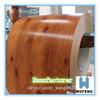 DX51D,SGCC,CGCC,ASTM A653 wood grain ppgi wooden ppgi for sandwich pannel roofing sheet manufacturer factory in china