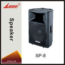 Lane SP-8 professional natural sound speakers audio