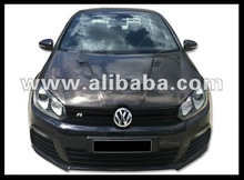 Carbon hood Volkswagen golf VI look R20