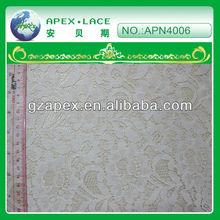 2013 fashion cotton nylon lace For Garment Cotton nylon Embroidery lace-APN4006