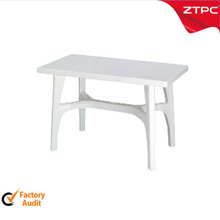 outdoor plastic table white color