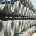 Ranurado de tubería de pvc gris fabricante/blanco