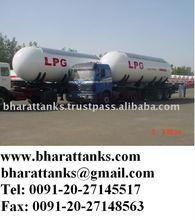 LPG transport semi trailers