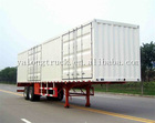 Box Semi Trailer Durable Van Type Transport Semi Trailer Widely Used Made In China