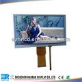 tft شاشة عرض lcd 800x480 7 بوصة tft lcd وحدة مع شاشة تعمل باللمس مقاوم