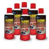 spray silicone oil