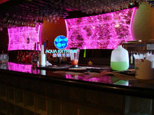 water bubble wall panel cabinet suit for bar decoration