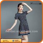 2013 Hot Selling Summer Short Ladies 100% Rayon Dresses