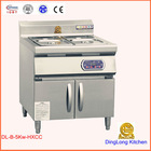 cabinet restaurant commercial induction stove food warmer