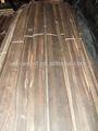 Placage en bois d'ébène naturel